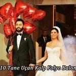 10 kalp balon