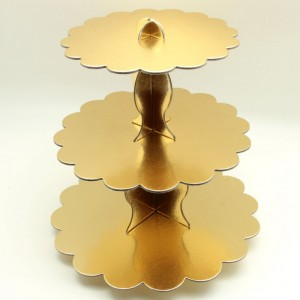 altın kek standı