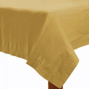 altın masa örtüsü