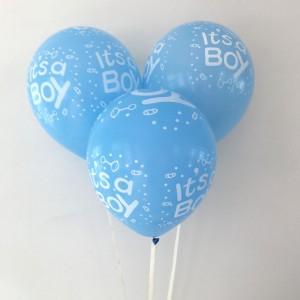 bebek mavi balon