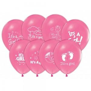 bebek pembe balon