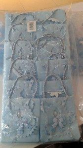 hediyelik çanta mavi