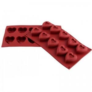silikon kalp kalıp