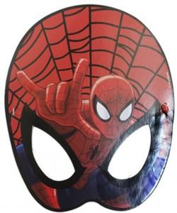 spiderman kağıt maske