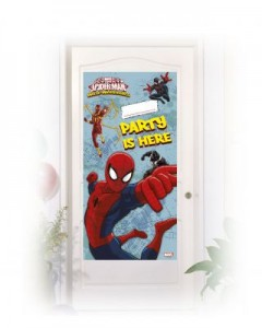 spiderman kapı afişi
