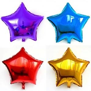 yıldız folyo balon